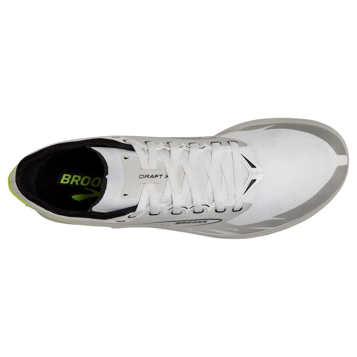 Brooks Launch XC - Color: White/Black/Nightlife - Size: M4/W5.5 - Width: Regular, White/Black/Nightlife, large, image 3