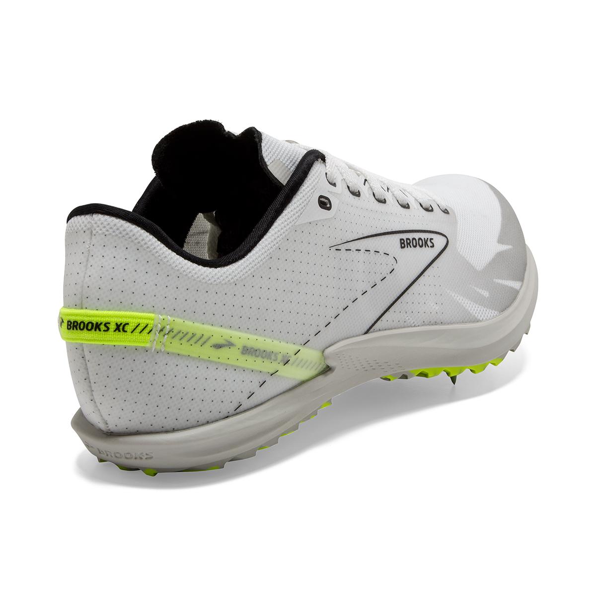 Brooks Launch XC - Color: White/Black/Nightlife - Size: M4/W5.5 - Width: Regular, White/Black/Nightlife, large, image 6