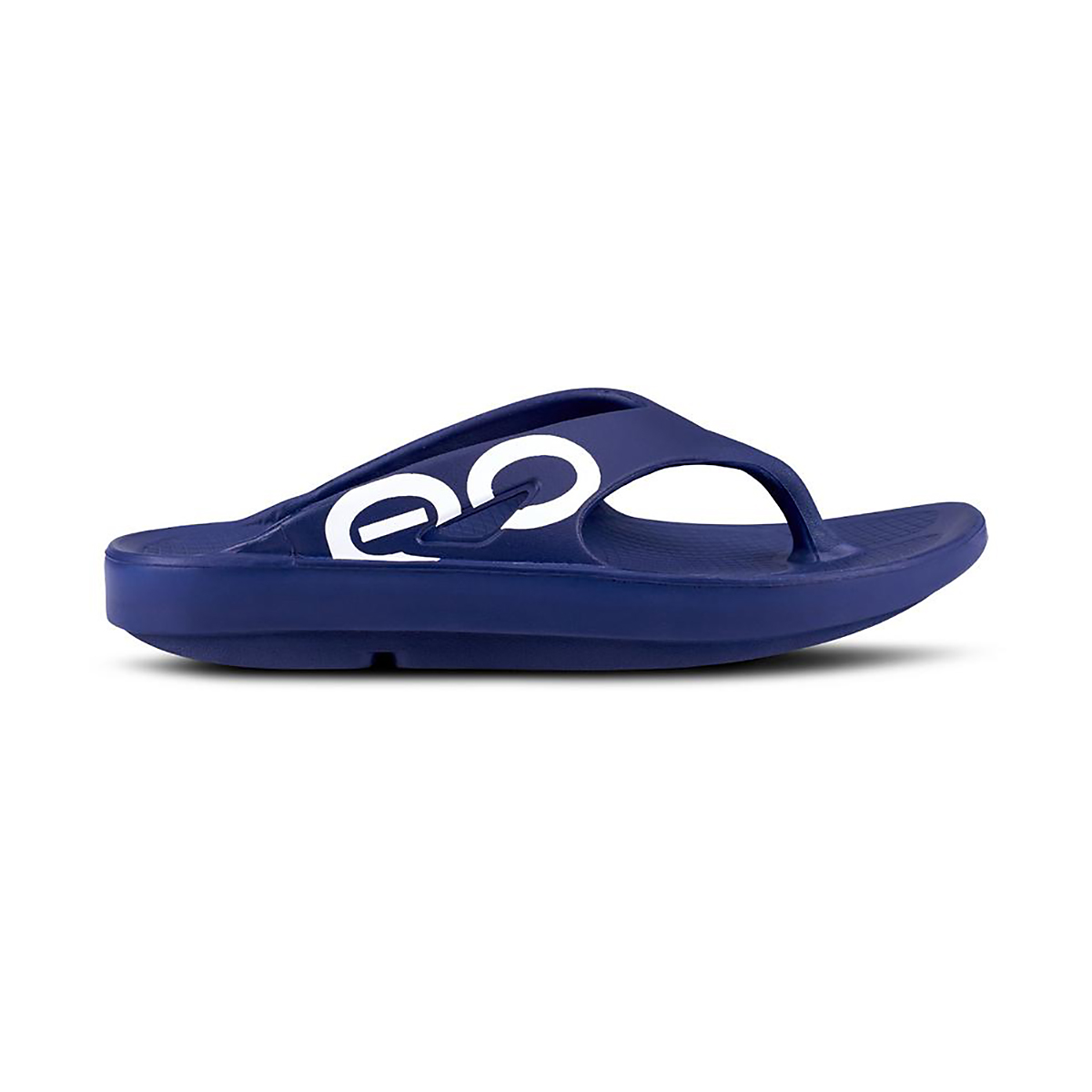 Oofos OOriginal Sport Recovery Sandal - Color: Navy - Size: M7/W9 - Width: Regular, Navy, large, image 1
