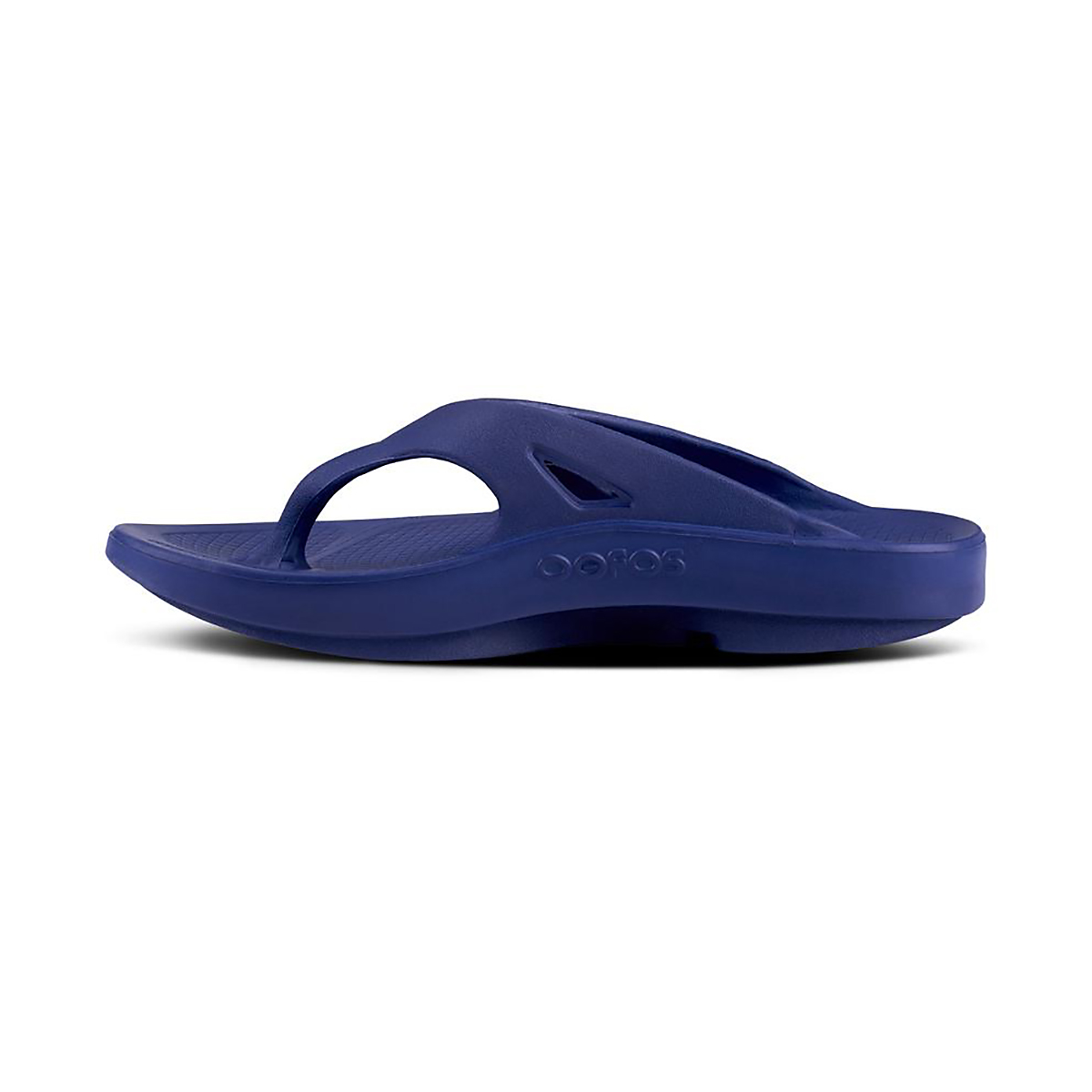 Oofos OOriginal Sport Recovery Sandal - Color: Navy - Size: M7/W9 - Width: Regular, Navy, large, image 2