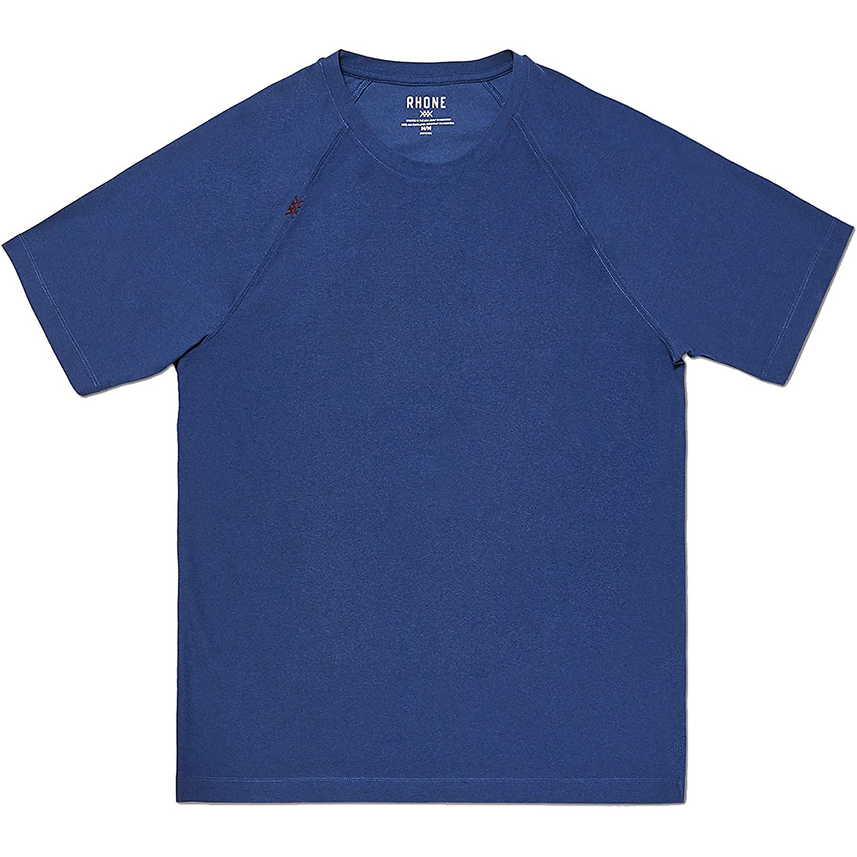 Men's Rhone Reign Short Sleeve  - Color: Midnight Sapphire Heather - Size: S, Midnight Sapphire Heather, large, image 1