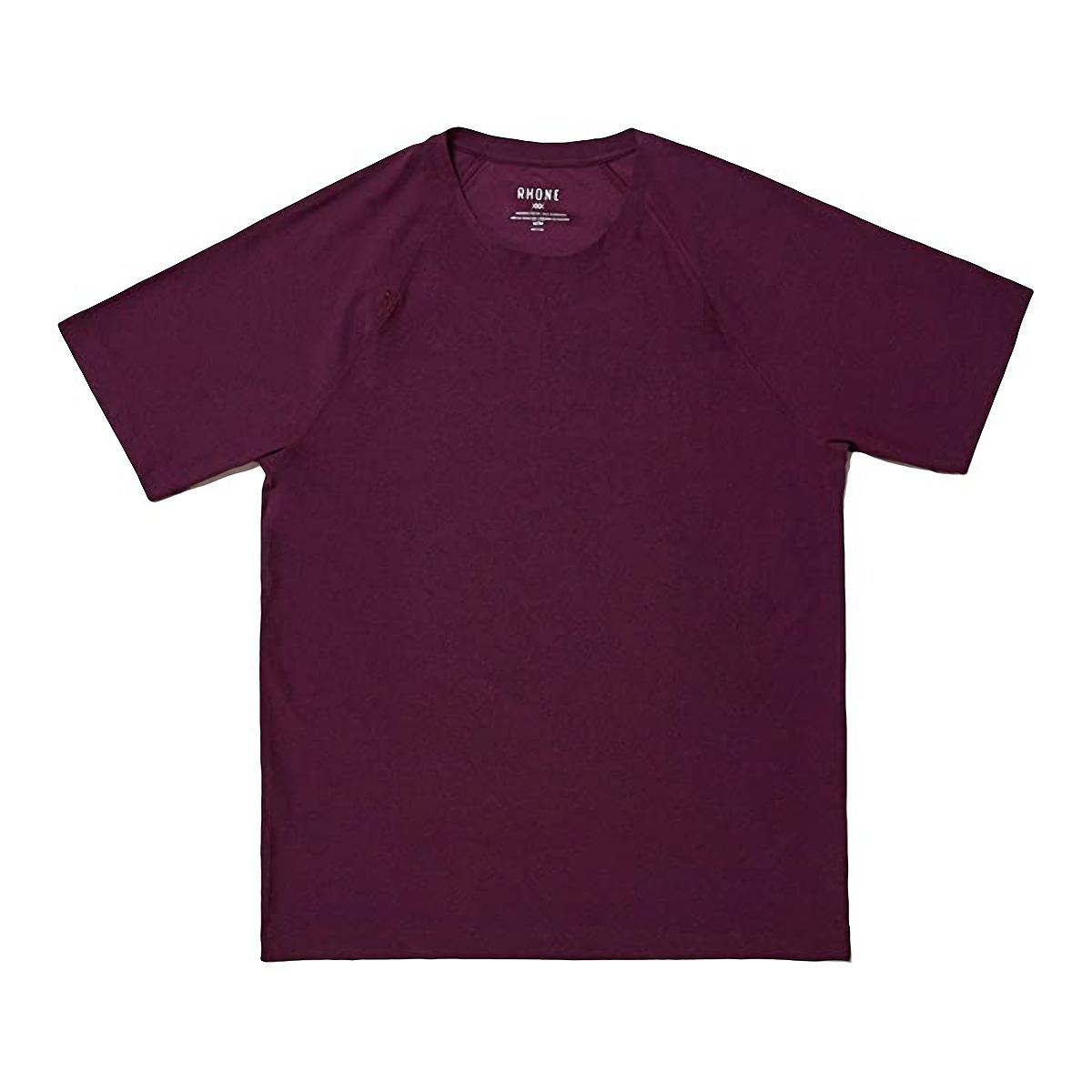 Men's Rhone Reign Short Sleeve - Color: Black/Fuschia - Size: S, Black/Fuschia, large, image 1