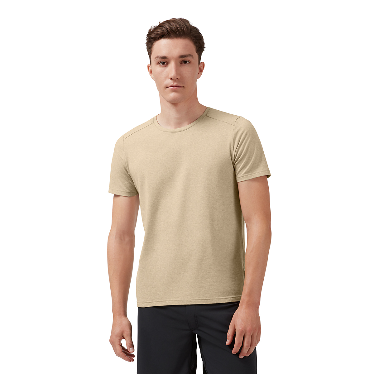 Men's On On-T Short Sleeve Shirt - Color: Camel - Size: XS, Camel, large, image 1