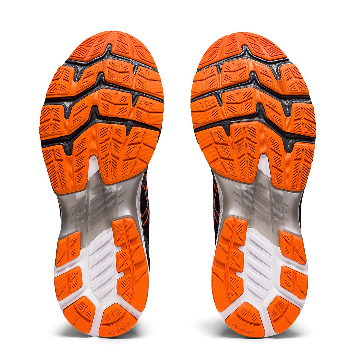 Men's Asics GEL-Kayano 27 Running Shoe - Color: Black/Marigold - Size: 7.5 - Width: Regular, Black/Marigold, large, image 7