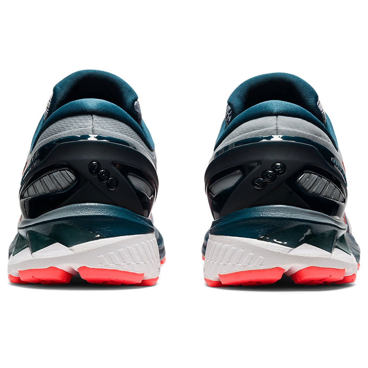 Men's Asics GEL-Kayano 27 Running Shoe - Color: Sheet Rock/Magn (Regular Width) - Size: 6, Sheet Rock/Magnetic Blue, large, image 5