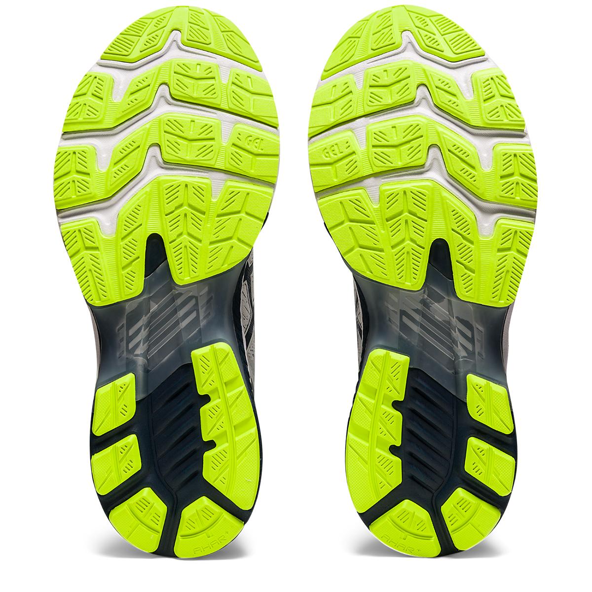 Men's Asics Gel-Kayano 27 Running Shoe - Color: Grey/Green/Blue - Size: 7 - Width: Regular, Grey/Green/Blue, large, image 3