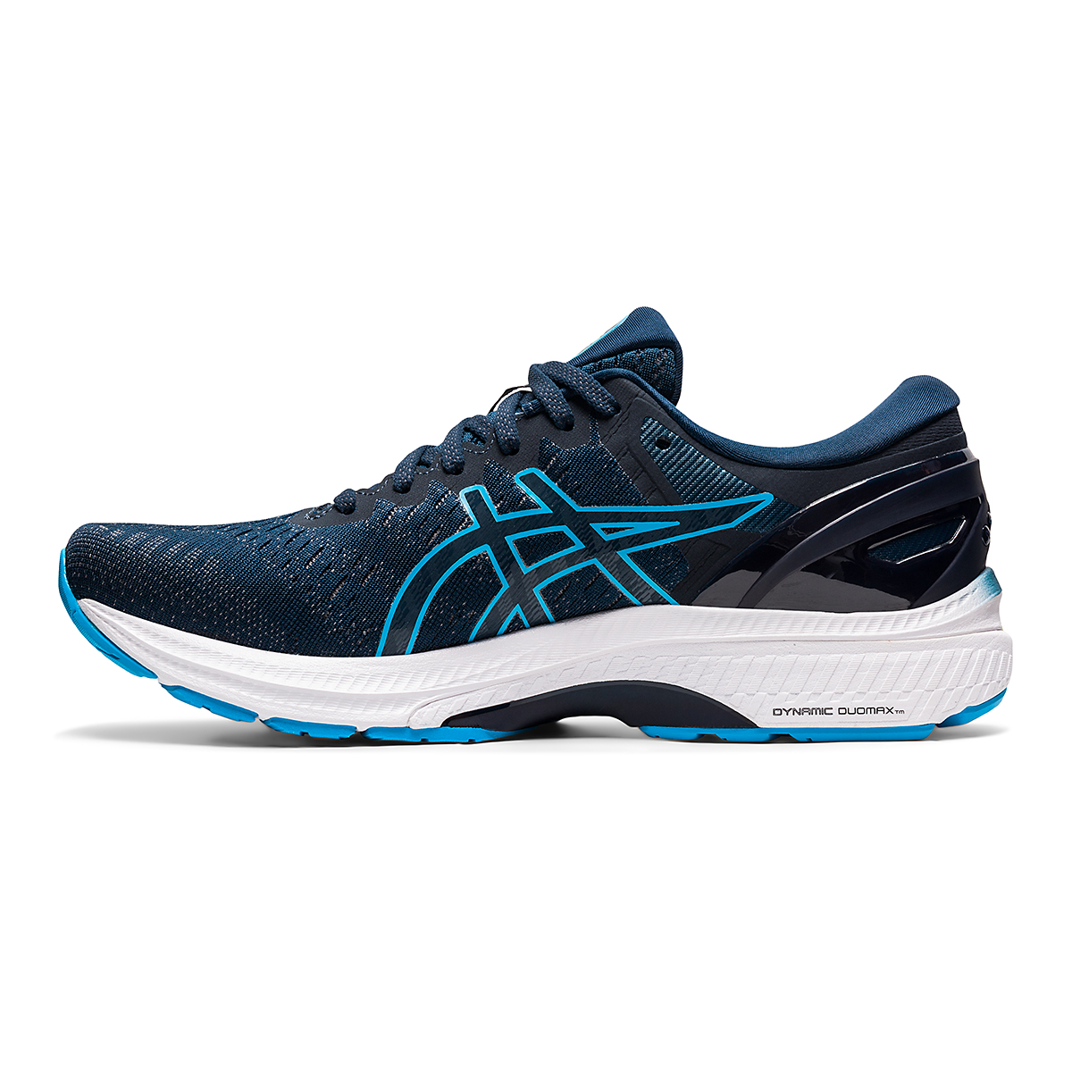 Men's Asics GEL-Kayano 27 Running Shoe - Color: French Blue/Dig - Size: 7.5 - Width: Regular, French Blue/Dig, large, image 2