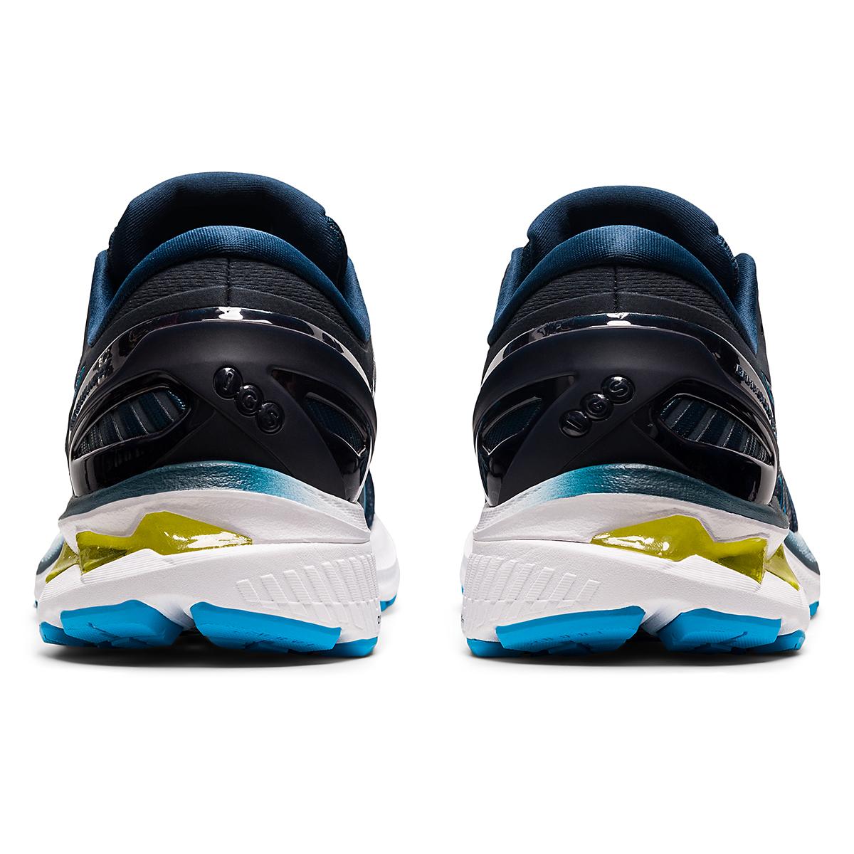 Men's Asics GEL-Kayano 27 Running Shoe - Color: French Blue/Dig - Size: 7.5 - Width: Regular, French Blue/Dig, large, image 6