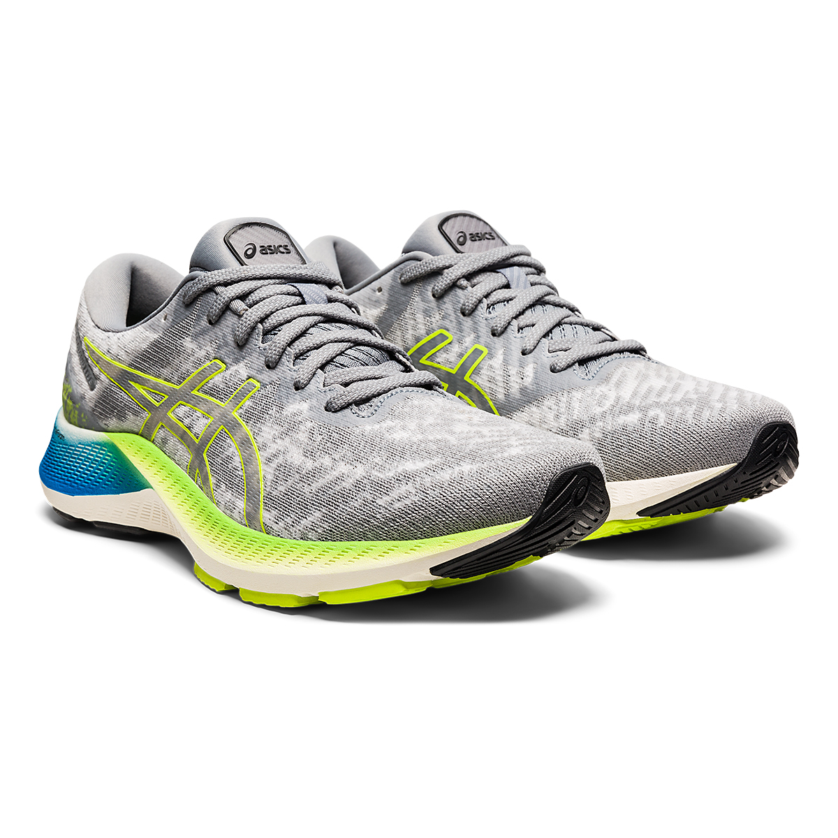 Men's Asics GEL-Kayano Lite Running Shoe - Color: Piedmont Grey/Sheet Rock - Size: 13 - Width: Regular, Piedmont Grey/Sheet Rock, large, image 3
