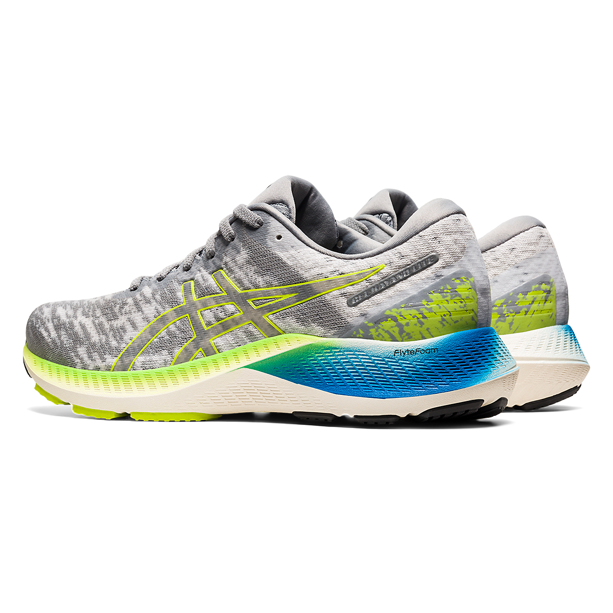 Men's Asics GEL-Kayano Lite Running Shoe - Color: Piedmont Grey/Sheet Rock - Size: 13 - Width: Regular, Piedmont Grey/Sheet Rock, large, image 4