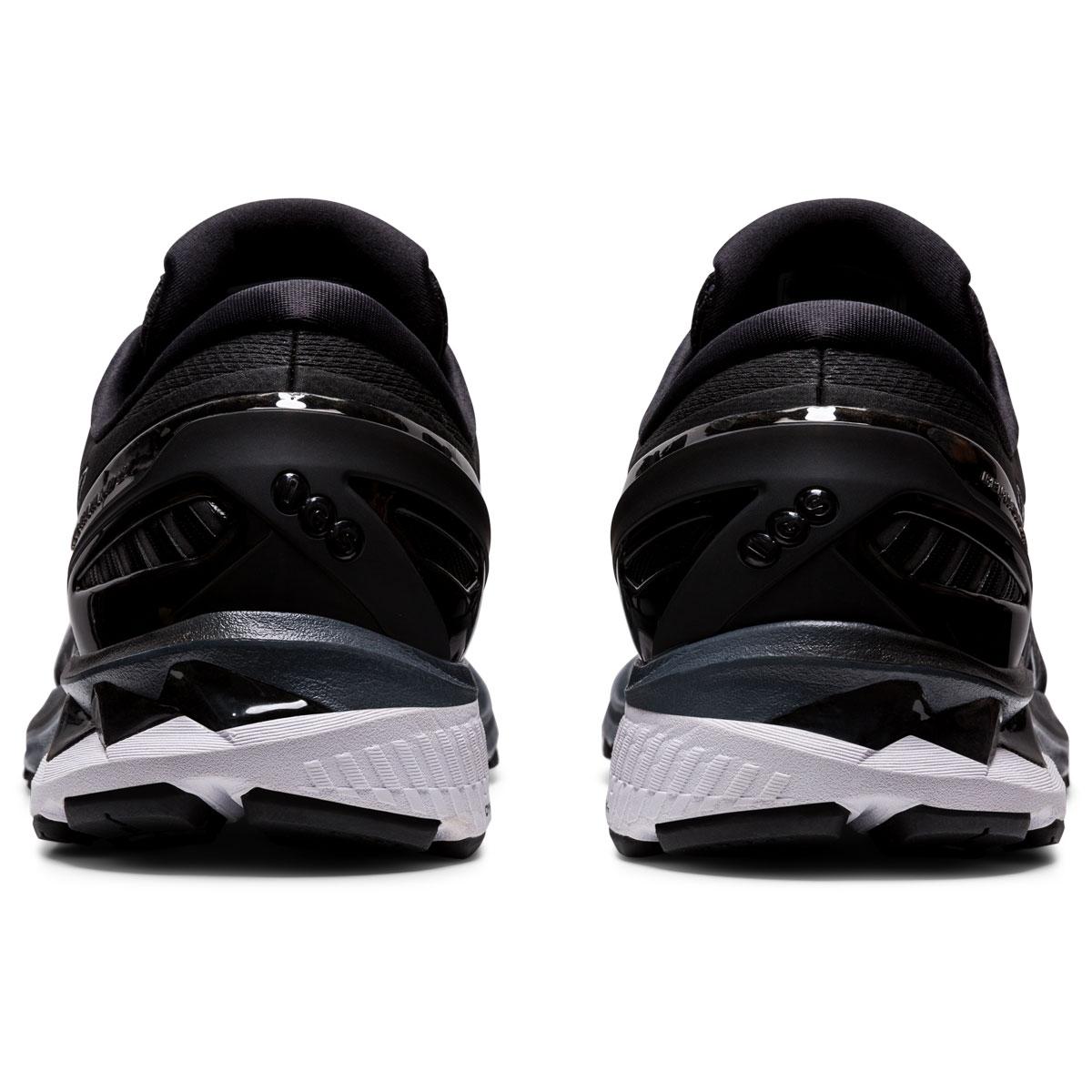 Men's Asics GEL-Kayano 27 Running Shoe - Color: Black/Pure Silv (Regular Width) - Size: 6, Black/Pure Silver, large, image 5
