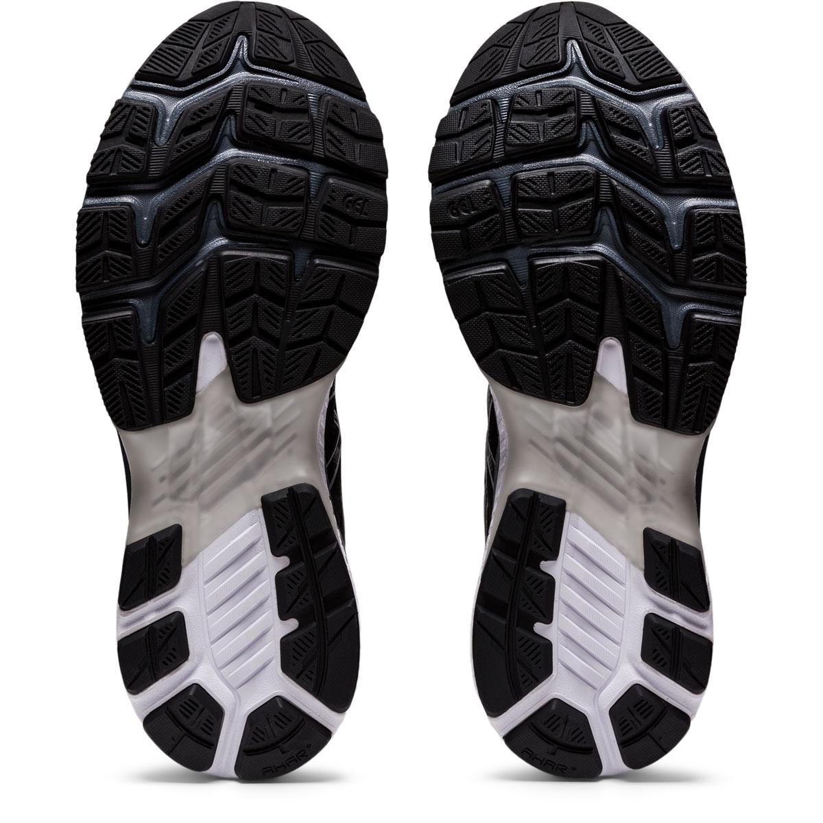 Men's Asics GEL-Kayano 27 Running Shoe - Color: Black/Pure Silv (Regular Width) - Size: 6, Black/Pure Silver, large, image 7