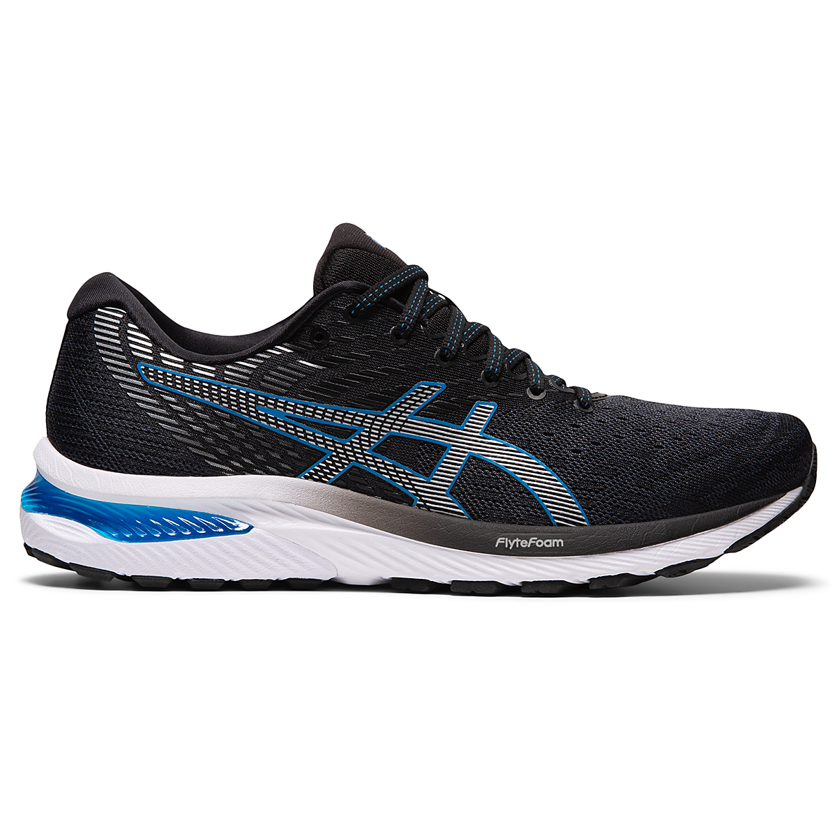 Men's Asics GEL-Cumulus 22 Running Shoe - Color: Carrier Grey/Pure Silver - Size: 7 - Width: Regular, Carrier Grey/Pure Silver, large, image 1