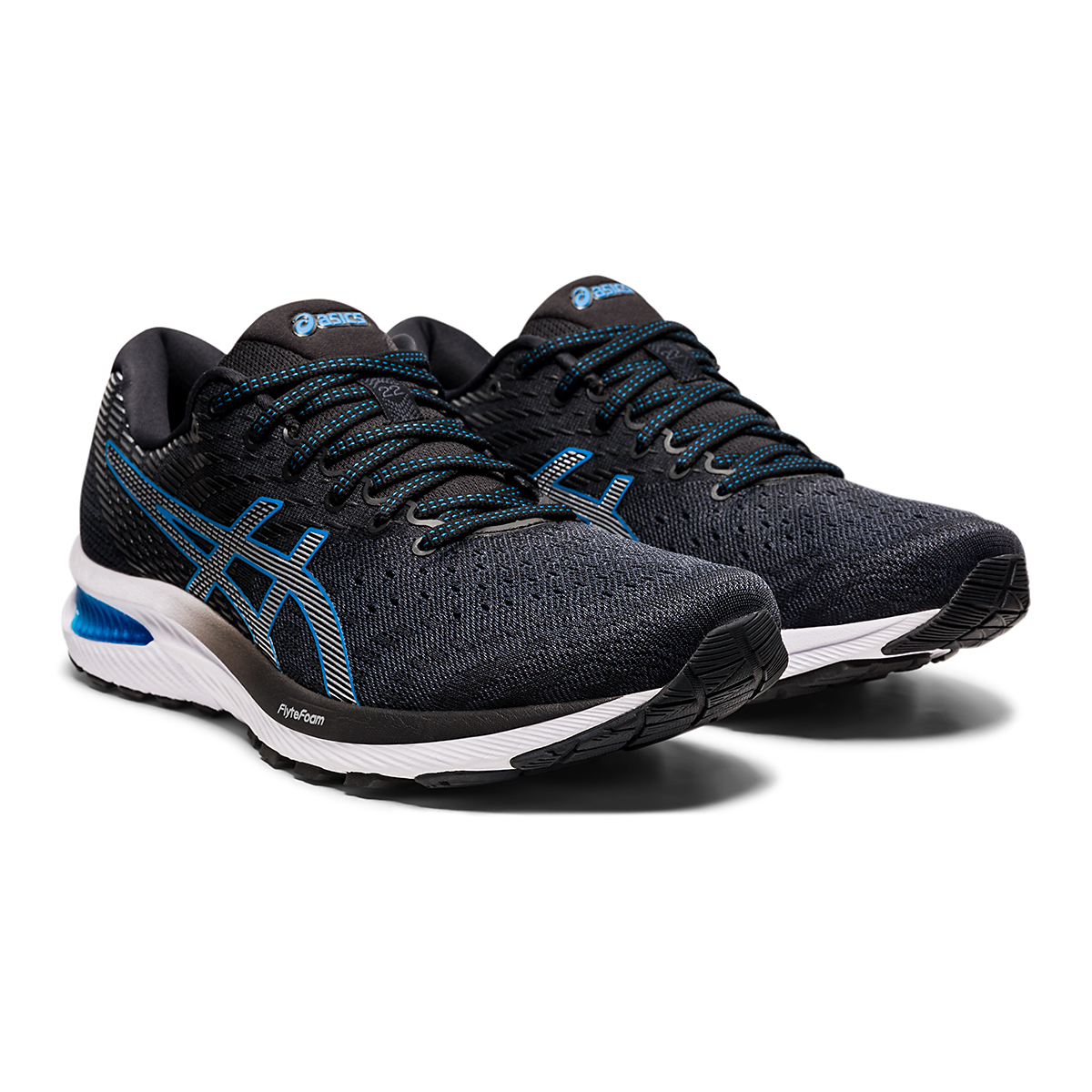 Men's Asics GEL-Cumulus 22 Running Shoe - Color: Carrier Grey/Pure Silver - Size: 7 - Width: Regular, Carrier Grey/Pure Silver, large, image 3