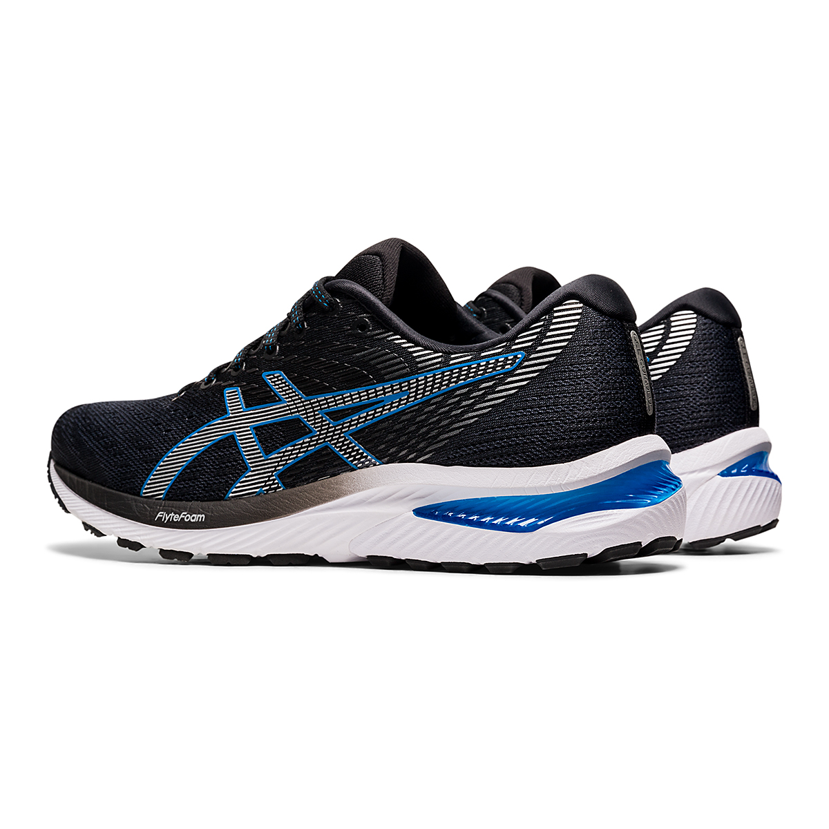 Men's Asics GEL-Cumulus 22 Running Shoe - Color: Carrier Grey/Pure Silver - Size: 7 - Width: Regular, Carrier Grey/Pure Silver, large, image 4