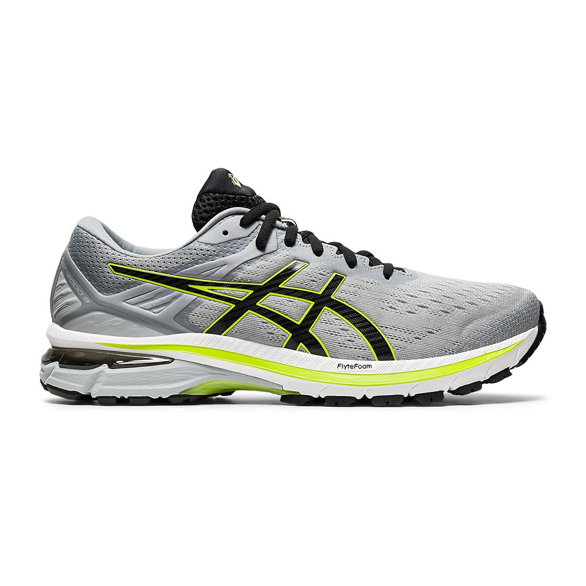 Men's Asics GT-2000 9 Running Shoe - Color: Sheet Rock/Black - Size: 7 - Width: Regular, Sheet Rock/Black, large, image 1