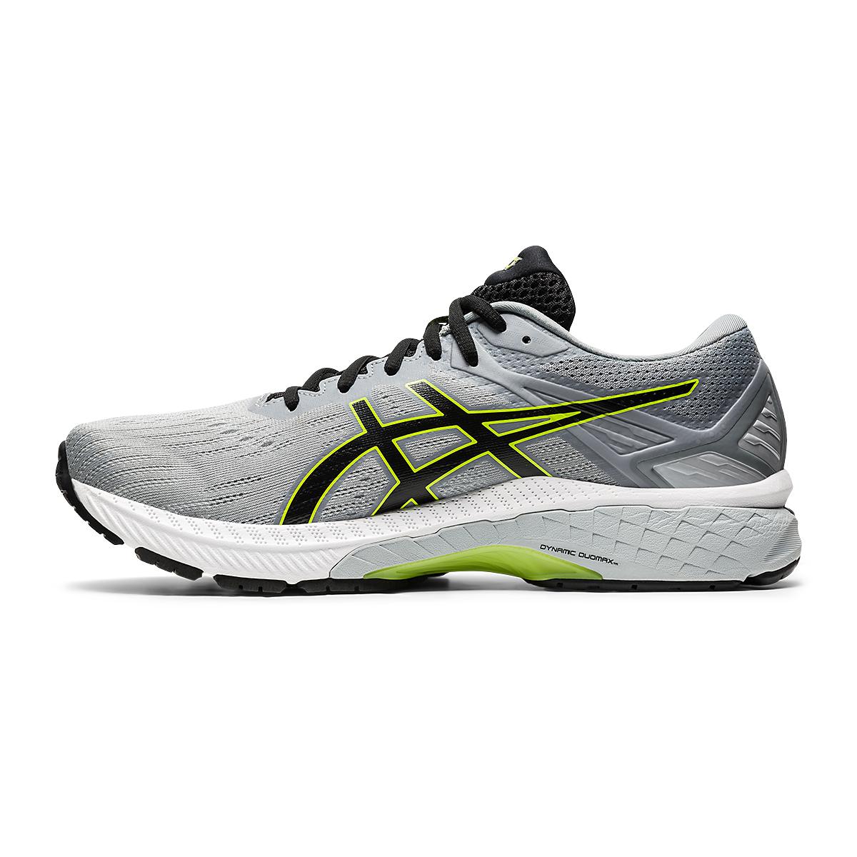 Men's Asics GT-2000 9 Running Shoe - Color: Sheet Rock/Black - Size: 7 - Width: Regular, Sheet Rock/Black, large, image 2