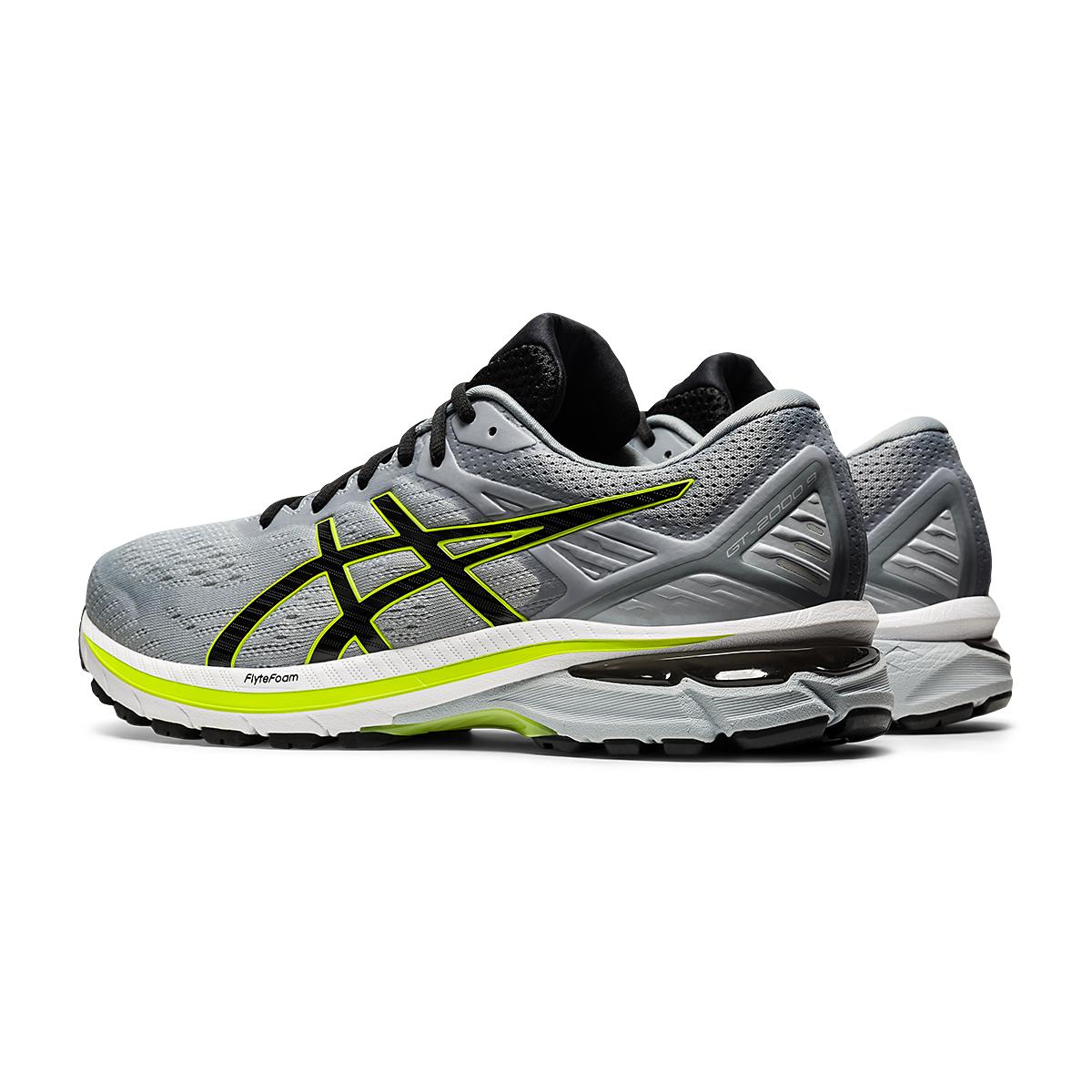 Men's Asics GT-2000 9 Running Shoe - Color: Sheet Rock/Black - Size: 7 - Width: Regular, Sheet Rock/Black, large, image 4