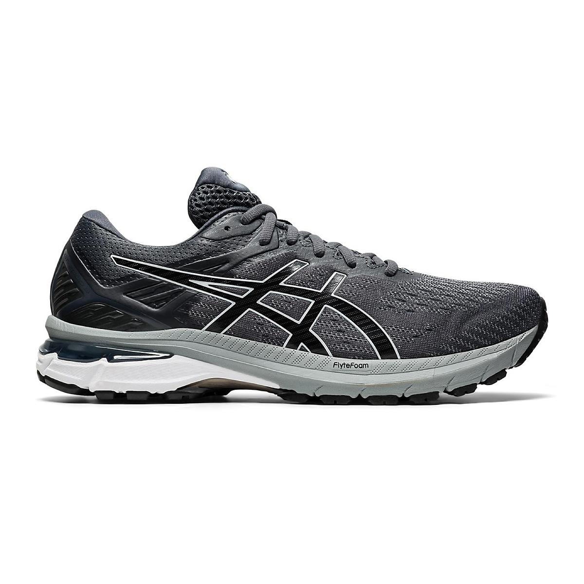 Men's Asics Gt-2000 9 Running Shoe - Color: Carrier Grey/Black - Size: 11 - Width: Regular, Carrier Grey/Black, large, image 1