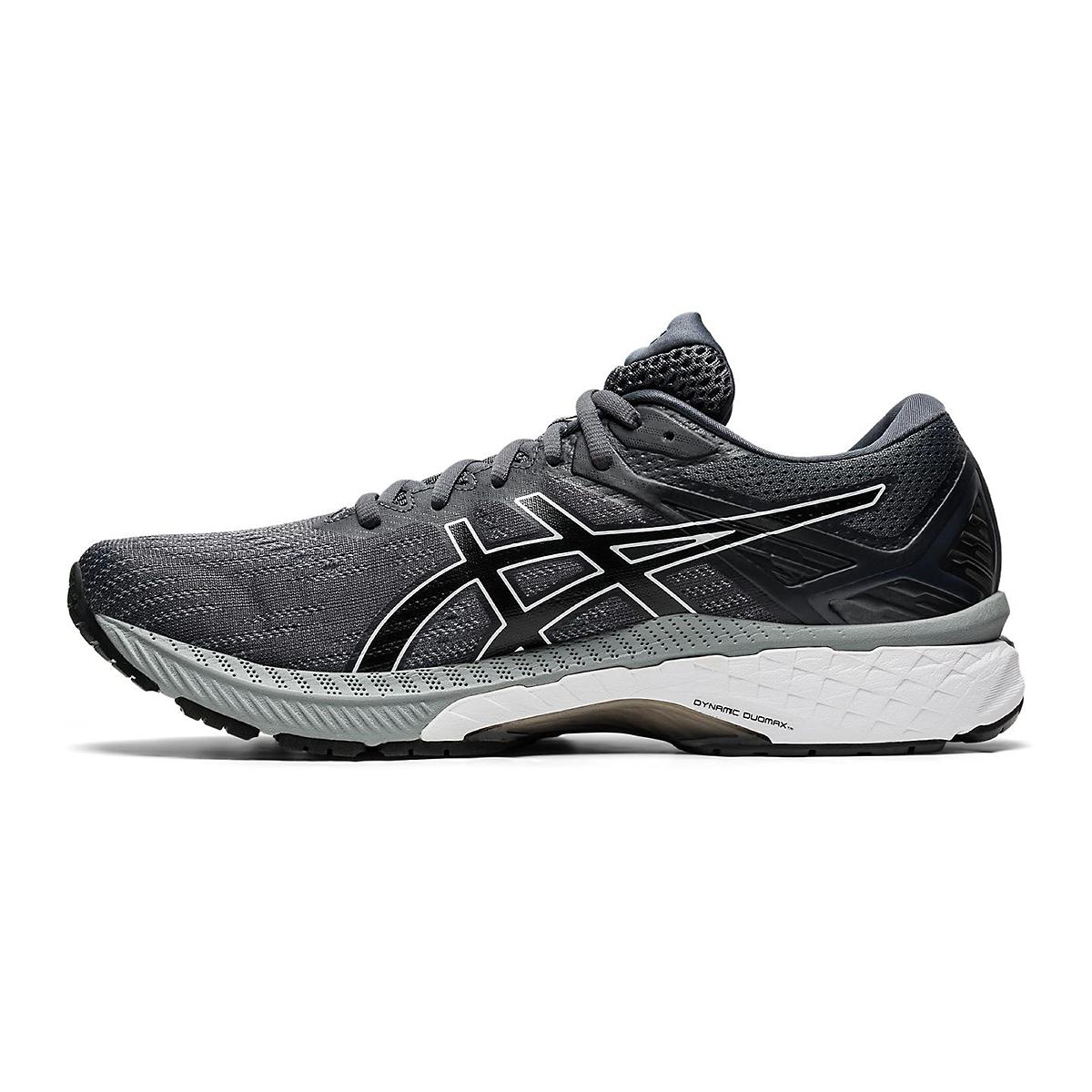Men's Asics Gt-2000 9 Running Shoe - Color: Carrier Grey/Black - Size: 11 - Width: Regular, Carrier Grey/Black, large, image 2
