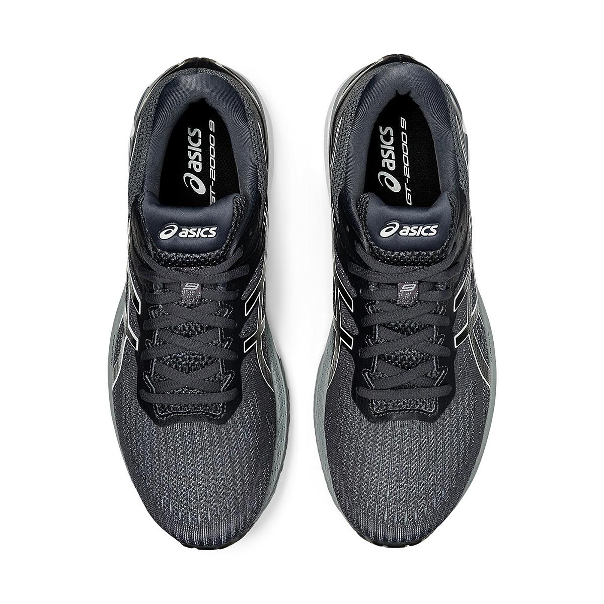 Men's Asics Gt-2000 9 Running Shoe - Color: Carrier Grey/Black - Size: 11 - Width: Regular, Carrier Grey/Black, large, image 3