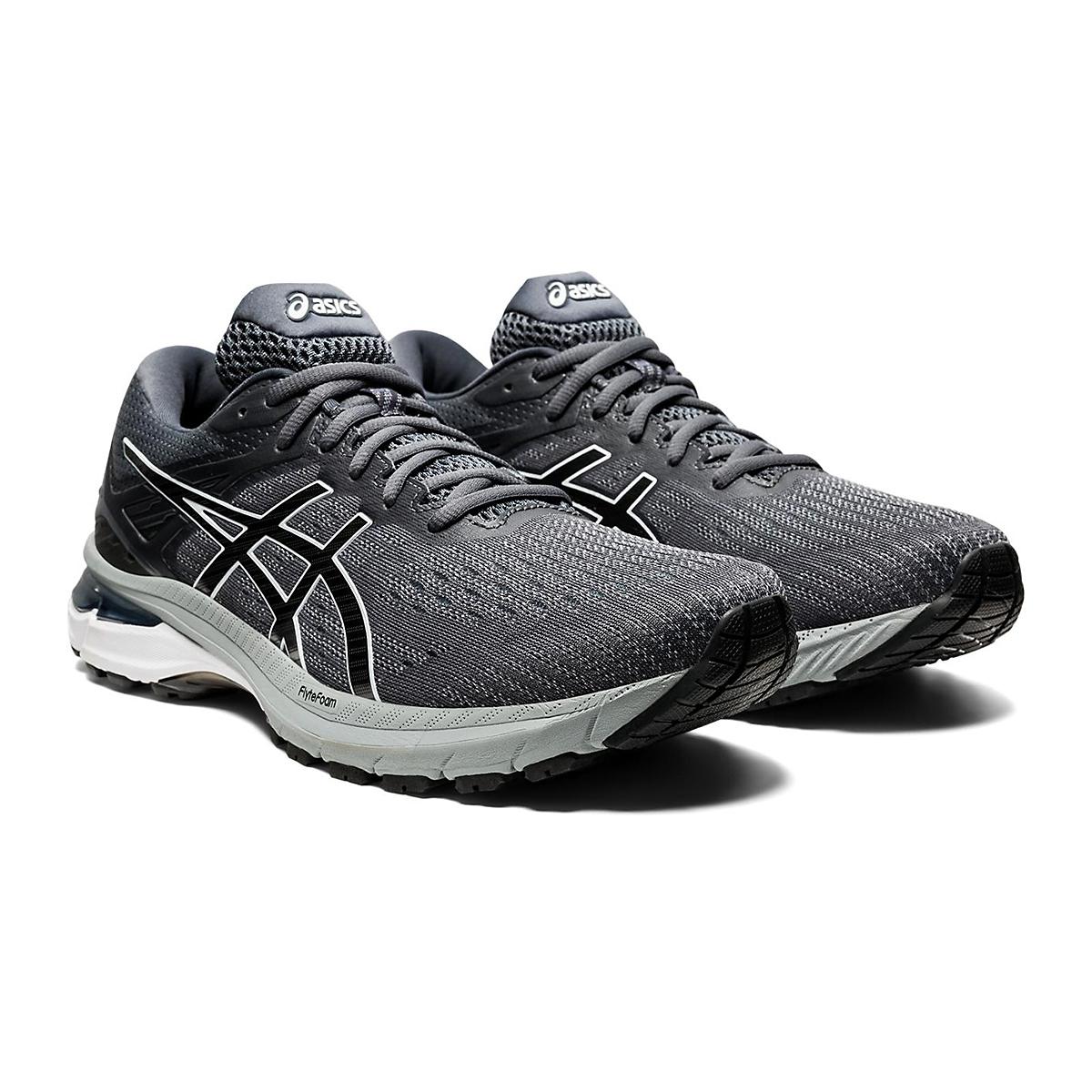 Men's Asics Gt-2000 9 Running Shoe - Color: Carrier Grey/Black - Size: 11 - Width: Regular, Carrier Grey/Black, large, image 4