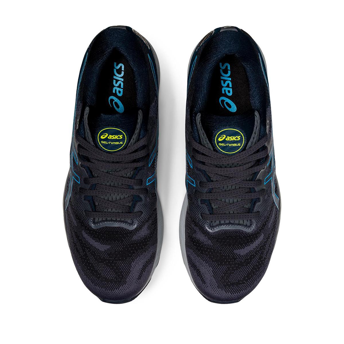 Men's Asics GEL-Nimbus 23 Running Shoe - Color: Carrier Grey/Digital Aqua - Size: 8.5 - Width: Regular, Carrier Grey/Digital Aqua, large, image 5