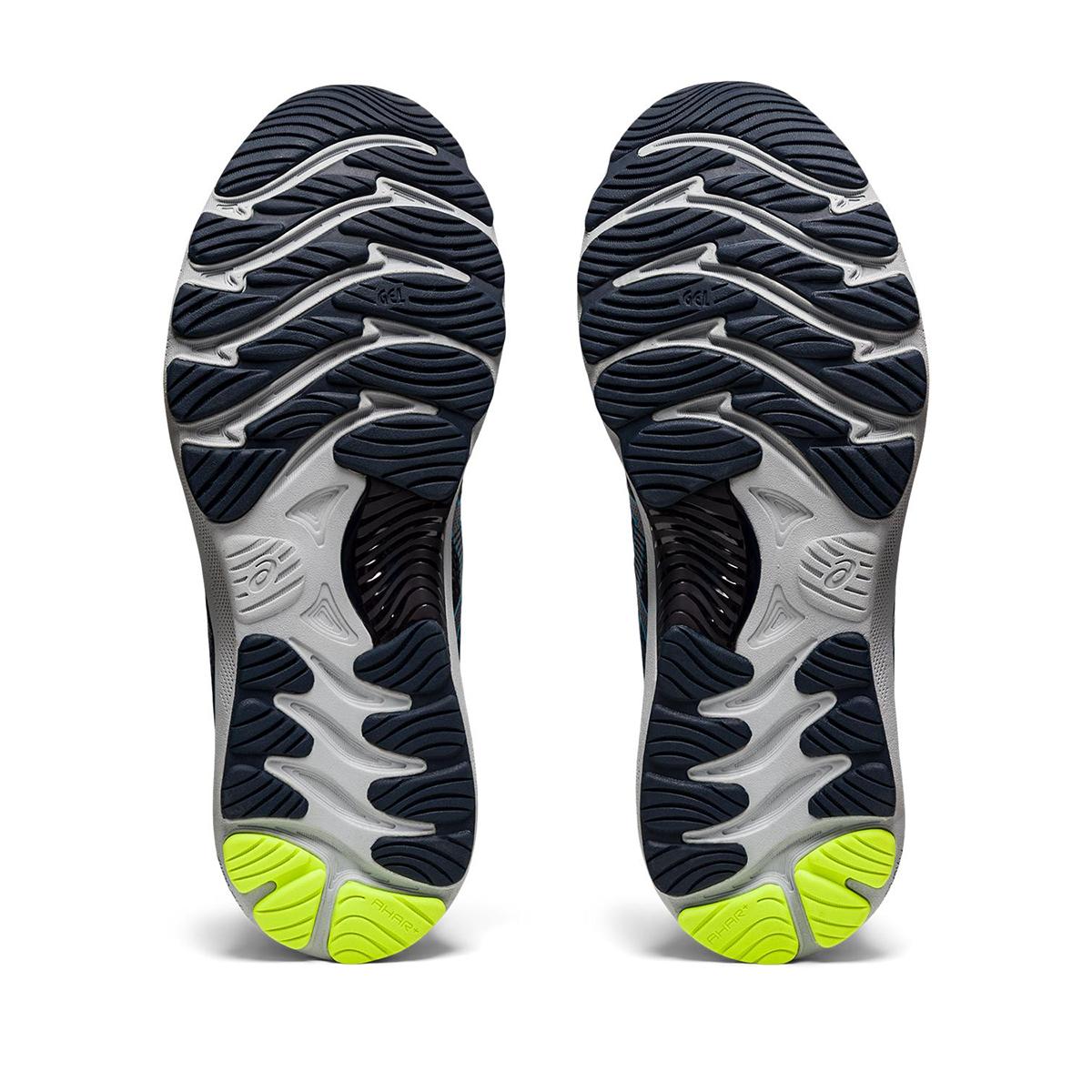 Men's Asics GEL-Nimbus 23 Running Shoe - Color: Carrier Grey/Digital Aqua - Size: 8.5 - Width: Regular, Carrier Grey/Digital Aqua, large, image 6