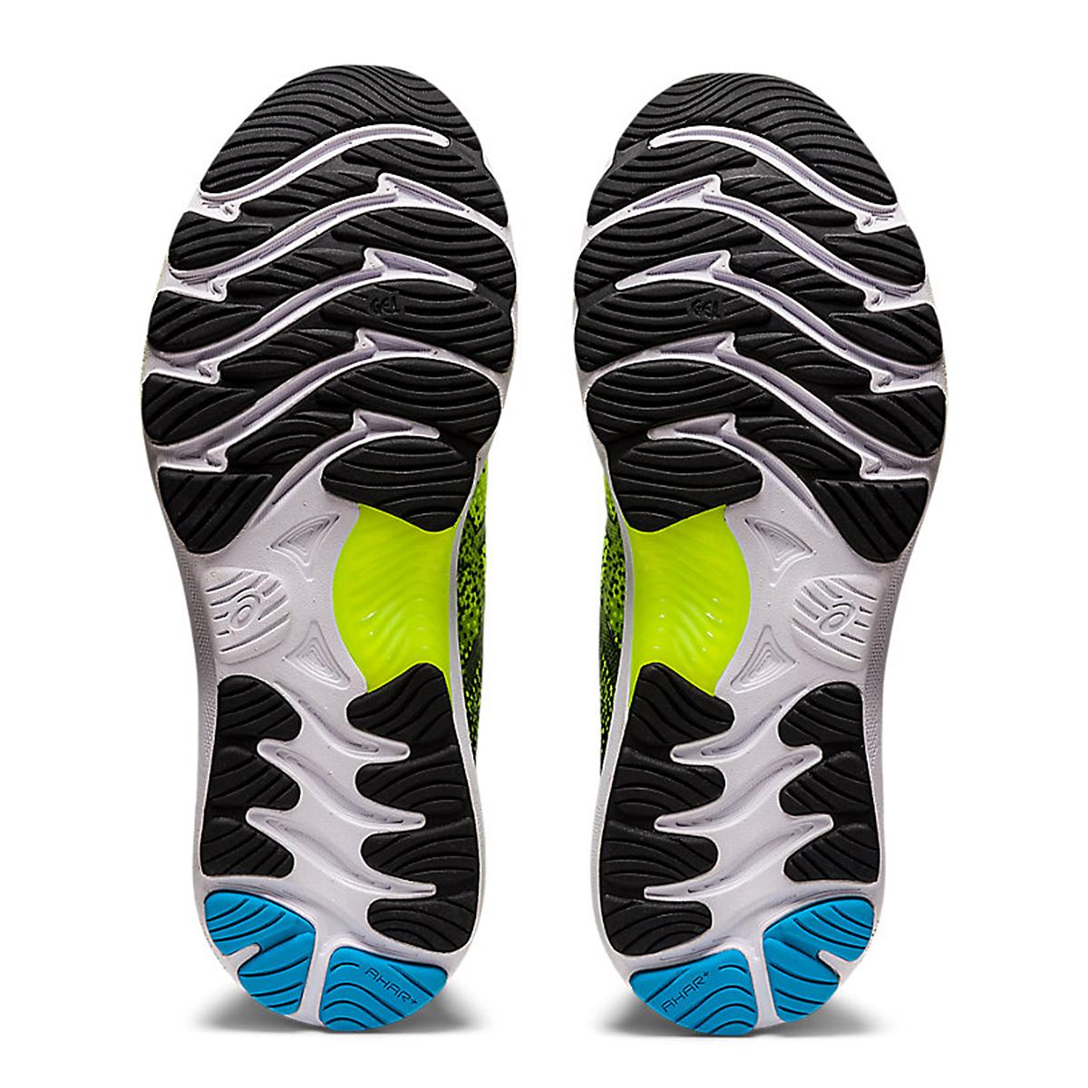 Men's Asics Gel-Nimbus 23 Running Shoe - Color: Hazard Green/Black - Size: 7 - Width: Regular, Hazard Green/Black, large, image 3