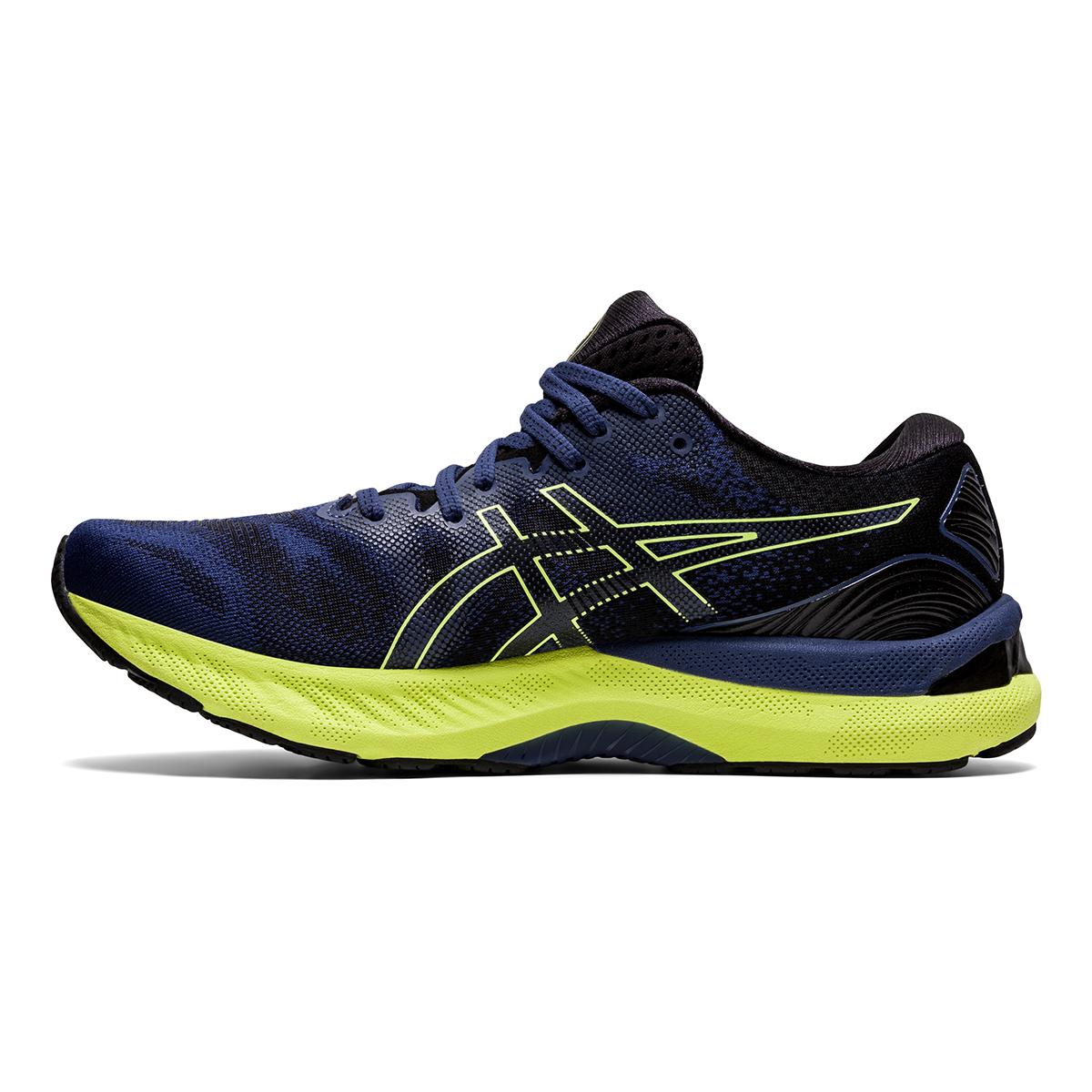 Men's Asics Gel-Nimbus 23 Running Shoe - Color: Thunder Blue - Size: 7 - Width: Regular, Thunder Blue, large, image 2
