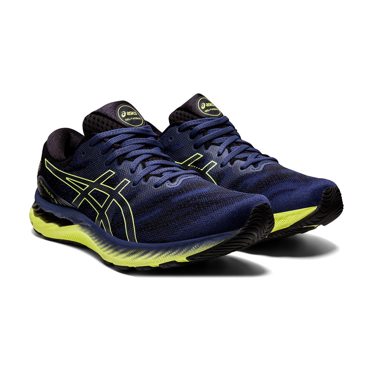 Men's Asics Gel-Nimbus 23 Running Shoe - Color: Thunder Blue - Size: 7 - Width: Regular, Thunder Blue, large, image 3