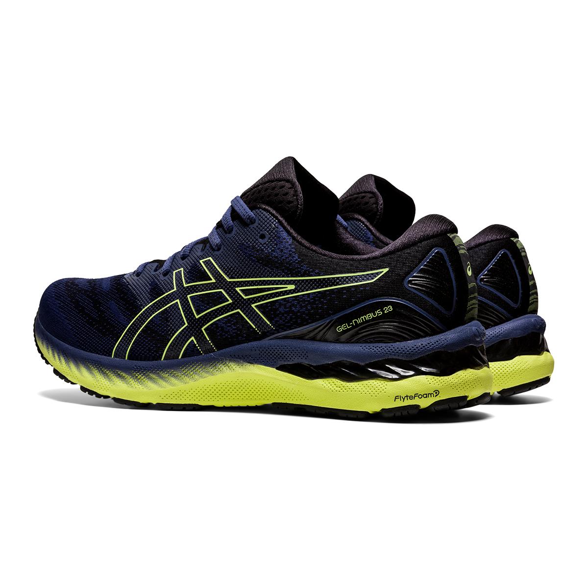 Men's Asics Gel-Nimbus 23 Running Shoe - Color: Thunder Blue - Size: 7 - Width: Regular, Thunder Blue, large, image 4