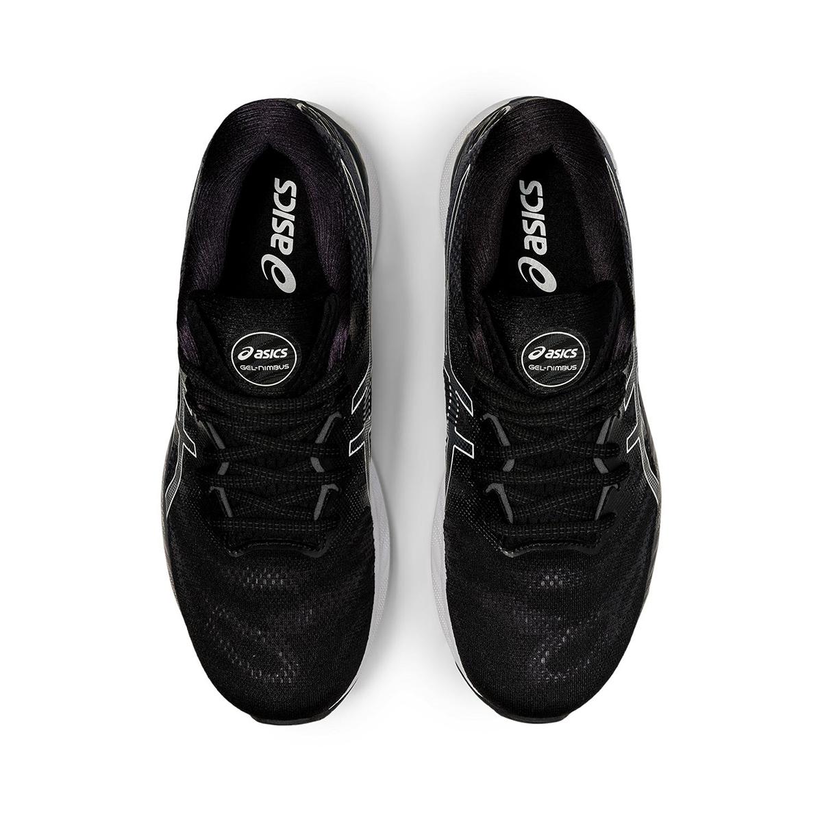 Men's Asics GEL-Nimbus 23 Running Shoe - Color: Black/White - Size: 7 - Width: Regular, Black/White, large, image 5