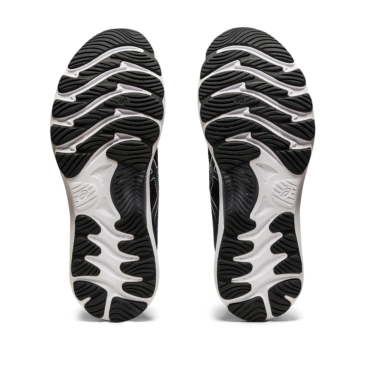 Men's Asics GEL-Nimbus 23 Running Shoe - Color: Black/White - Size: 7 - Width: Regular, Black/White, large, image 6