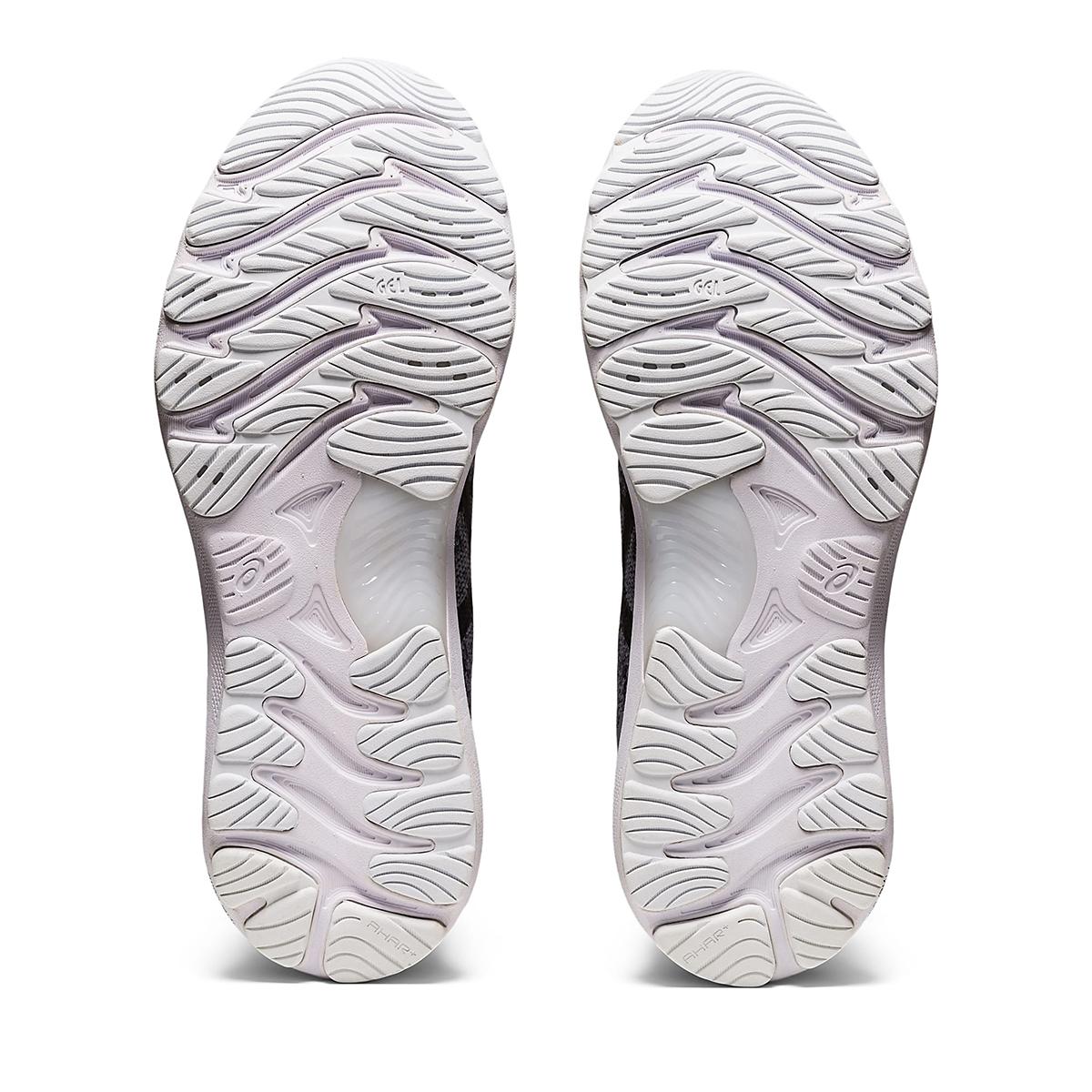 Men's Asics Gel-Nimbus 23 Knit Running Shoe - Color: Sheet Rock/Black - Size: 7 - Width: Regular, Sheet Rock/Black, large, image 4