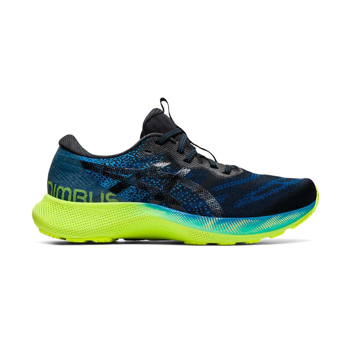 Men's Asics Gel-Nimbus Lite 2 Running Shoe - Color: Reborn Blue/Black - Size: 7 - Width: Regular, Reborn Blue/Black, large, image 1