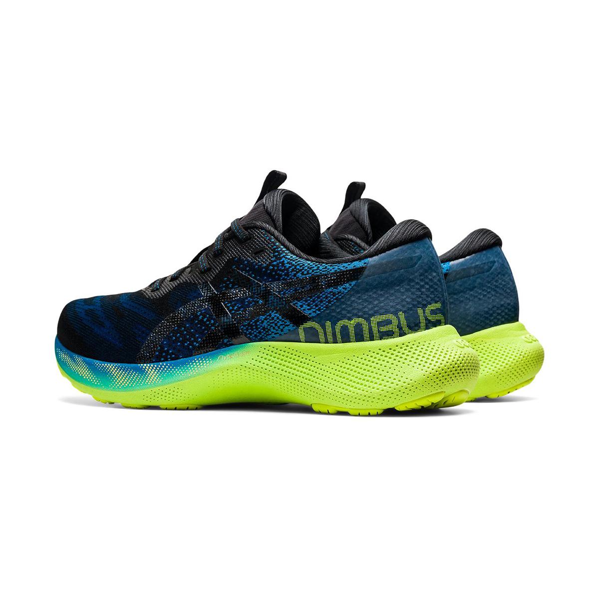 Men's Asics Gel-Nimbus Lite 2 Running Shoe - Color: Reborn Blue/Black - Size: 7 - Width: Regular, Reborn Blue/Black, large, image 4