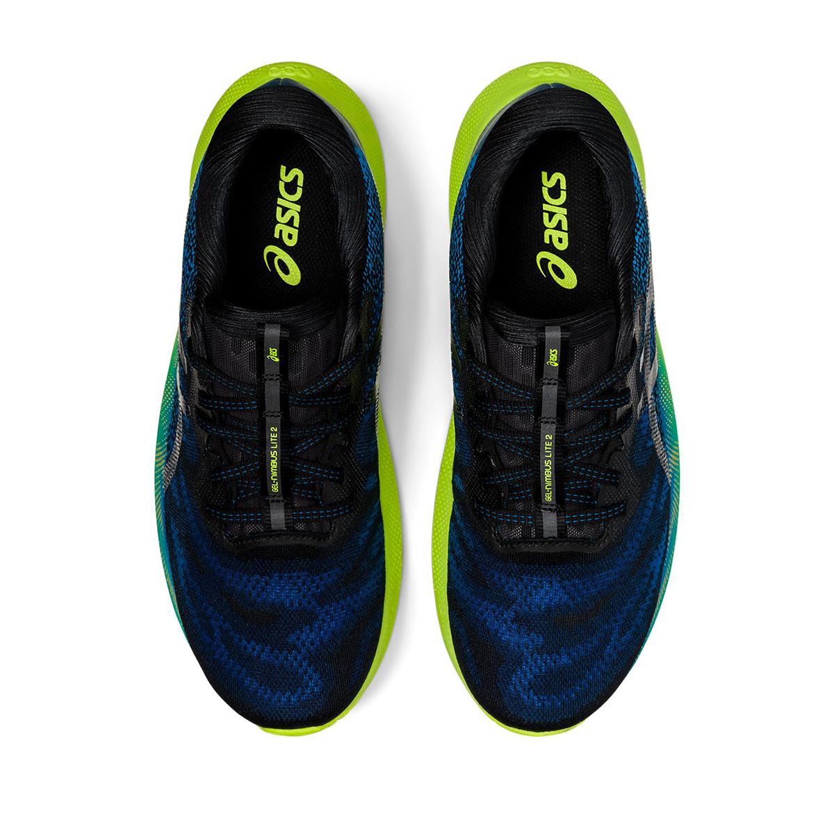 Men's Asics Gel-Nimbus Lite 2 Running Shoe - Color: Reborn Blue/Black - Size: 7 - Width: Regular, Reborn Blue/Black, large, image 5