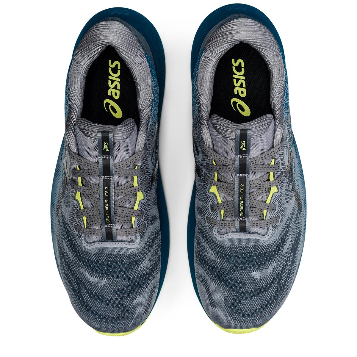 Men's Asics Gel-Nimbus Lite 2 Running Shoe - Color: Deep Sea Teal - Size: 7 - Width: Regular, Deep Sea Teal, large, image 5
