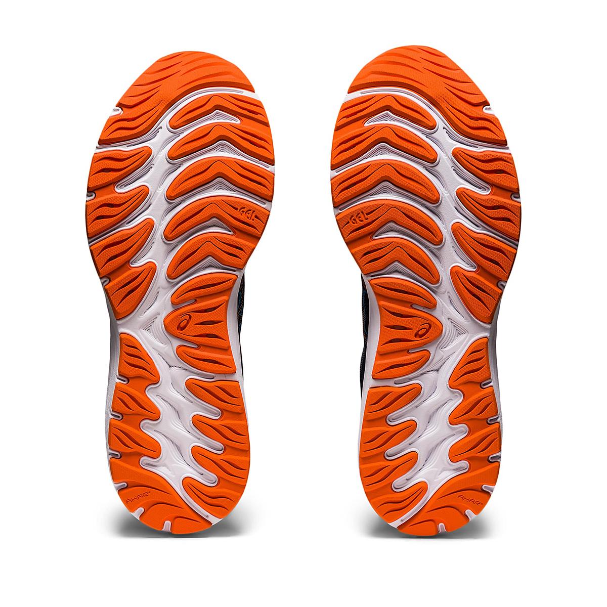 Men's Asics Gel-Cumulus 23 Running Shoe - Color: Black/Reborn Blue - Size: 6.5 - Width: Regular, Black/Reborn Blue, large, image 4