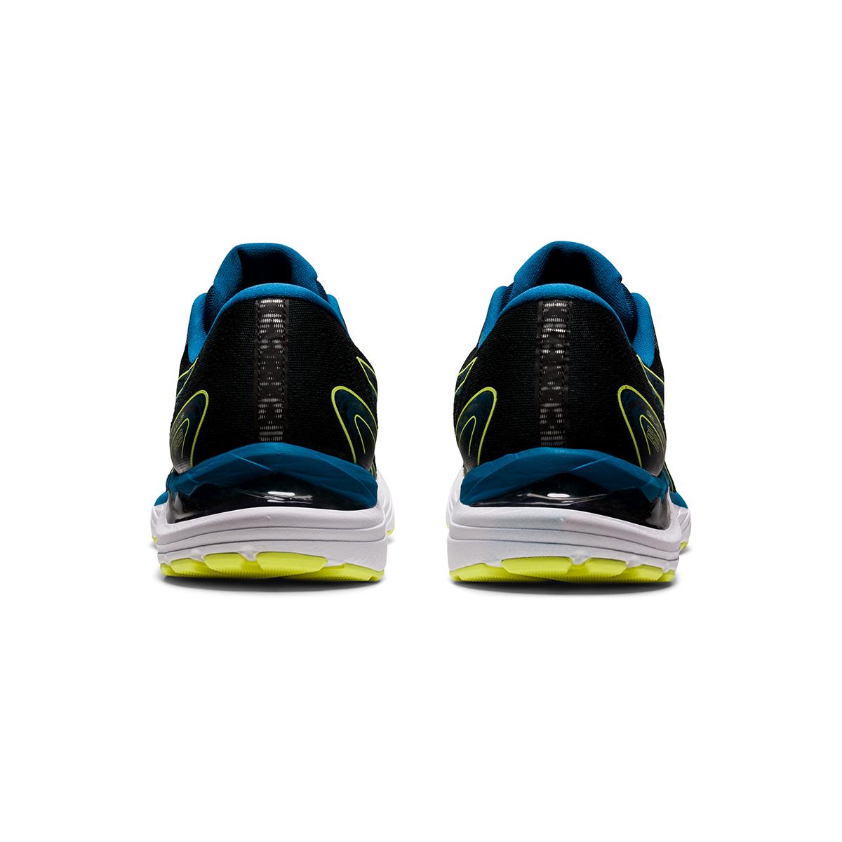 Men's Asics Gel-Cumulus 23 Running Shoe - Color: Black/Glow Yellow - Size: 7 - Width: Regular, Black/Glow Yellow, large, image 5