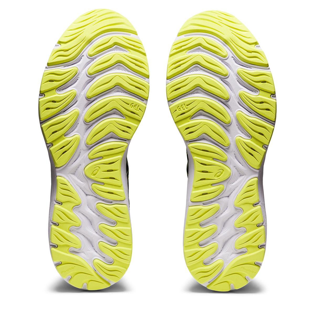 Men's Asics Gel-Cumulus 23 Running Shoe - Color: Black/Glow Yellow - Size: 7 - Width: Regular, Black/Glow Yellow, large, image 6