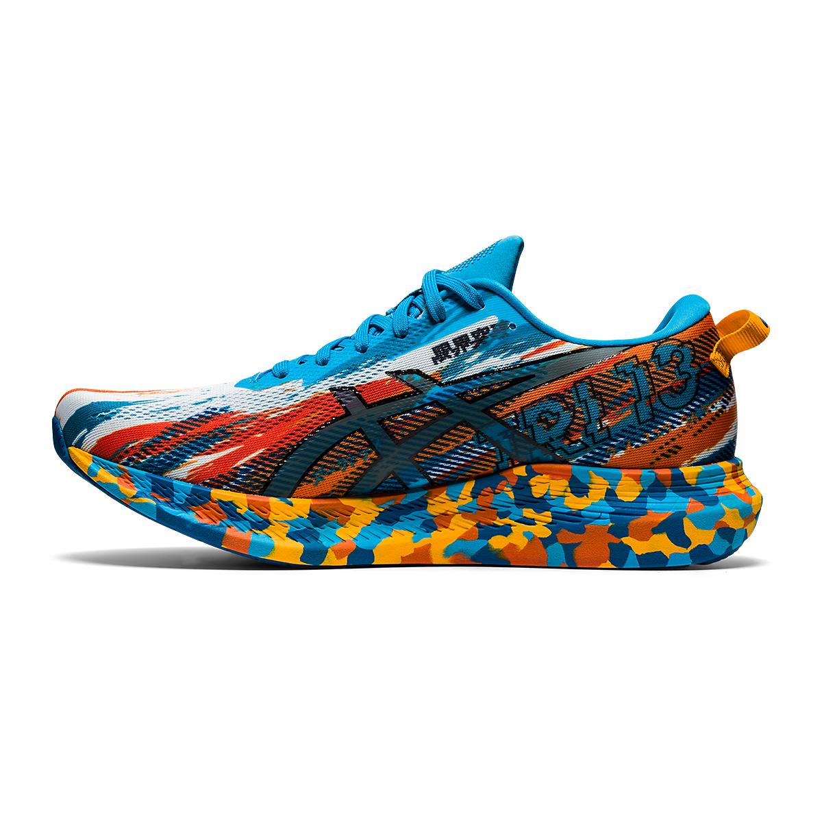 Men's Asics Noosa Tri 13 Running Shoe - Color: Digital Aqua/Ma - Size: 7 - Width: Regular, Digital Aqua/Ma, large, image 2