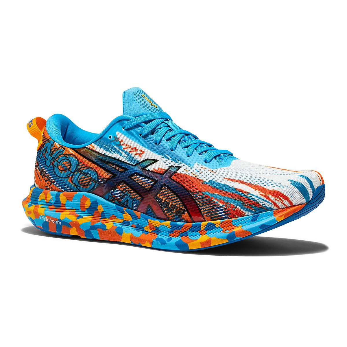 Men's Asics Noosa Tri 13 Running Shoe - Color: Digital Aqua/Ma - Size: 7 - Width: Regular, Digital Aqua/Ma, large, image 3