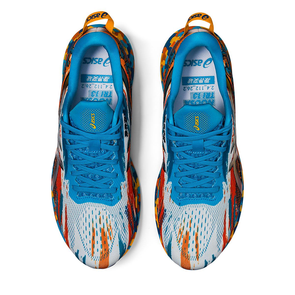 Men's Asics Noosa Tri 13 Running Shoe - Color: Digital Aqua/Ma - Size: 7 - Width: Regular, Digital Aqua/Ma, large, image 7