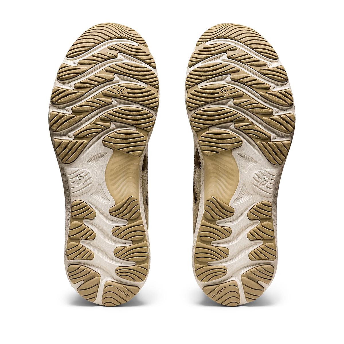 Men's Asics Gel-Nimbus 23 Earth Day Running Shoe - Color: Cream/Putty - Size: 7 - Width: Regular, Cream/Putty, large, image 4
