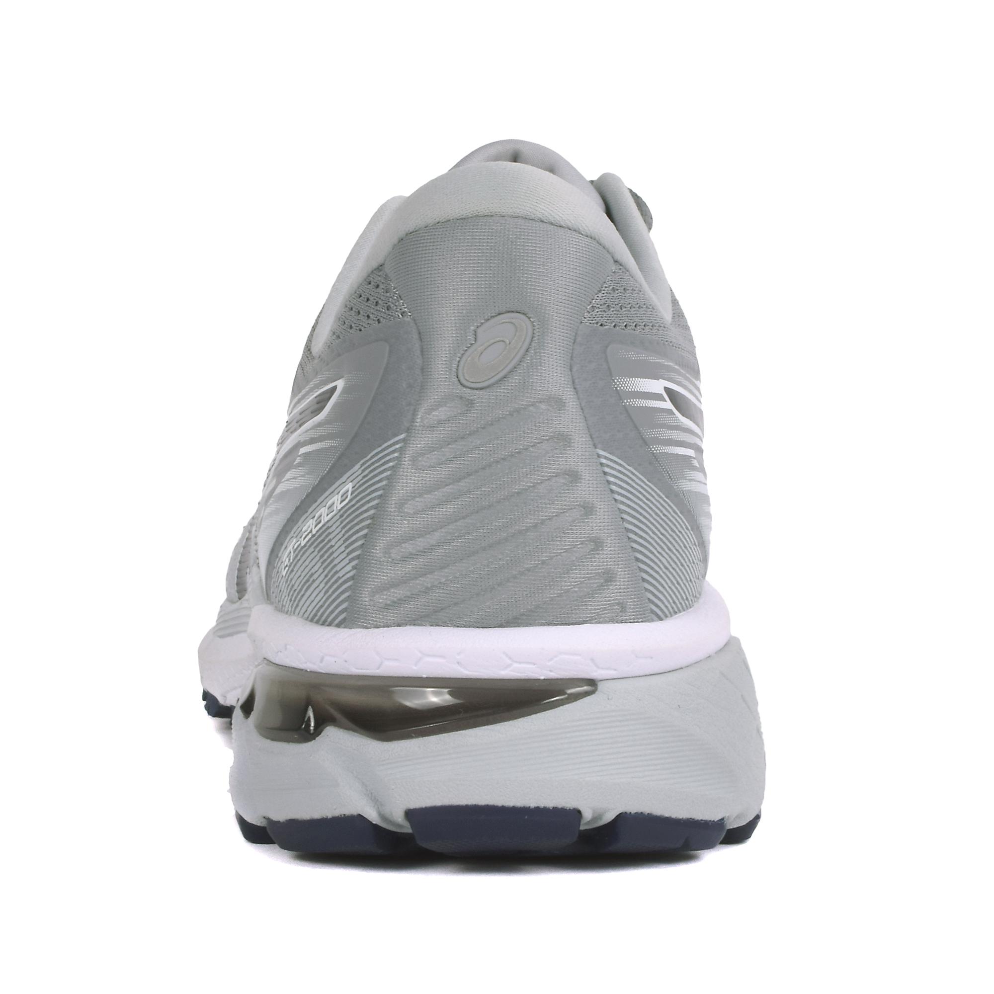 Men's Asics Gt-2000 8 Running Shoe - Color: Piedmont Grey (Regular Width) - Size: 7, Grey, large, image 2