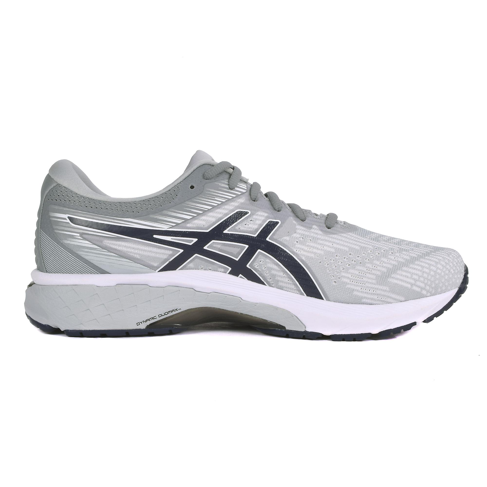 Men's Asics Gt-2000 8 Running Shoe - Color: Piedmont Grey (Regular Width) - Size: 7, Grey, large, image 3