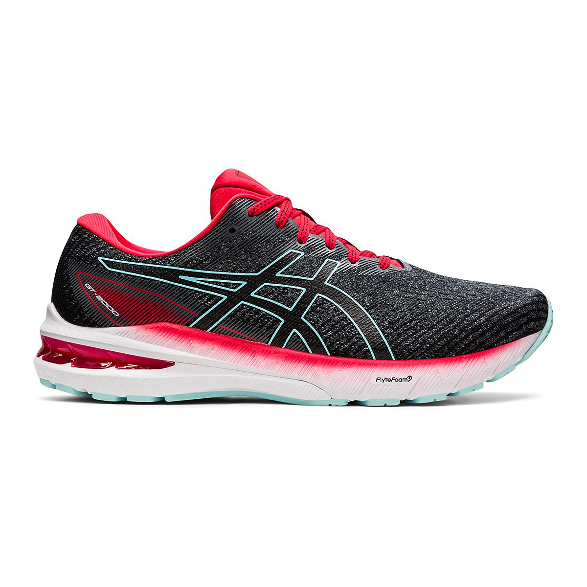 Men's Asics GT-2000 10 Running Shoe - Color: Metropolis/Electric Red - Size: 7 - Width: Regular, Metropolis/Electric Red, large, image 1