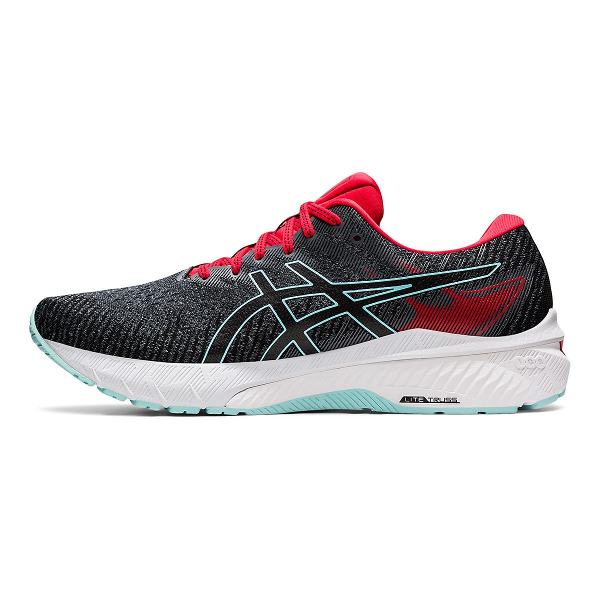 Men's Asics GT-2000 10 Running Shoe - Color: Metropolis/Electric Red - Size: 7 - Width: Regular, Metropolis/Electric Red, large, image 2